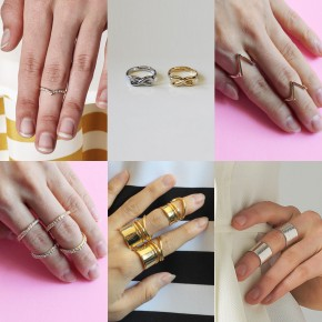 KNUCKLE RINGS THAT ADD THE PERFECT TOUCH